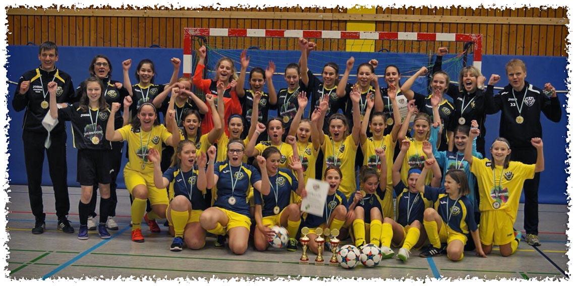 Futsal Kreismeister der Mädchen