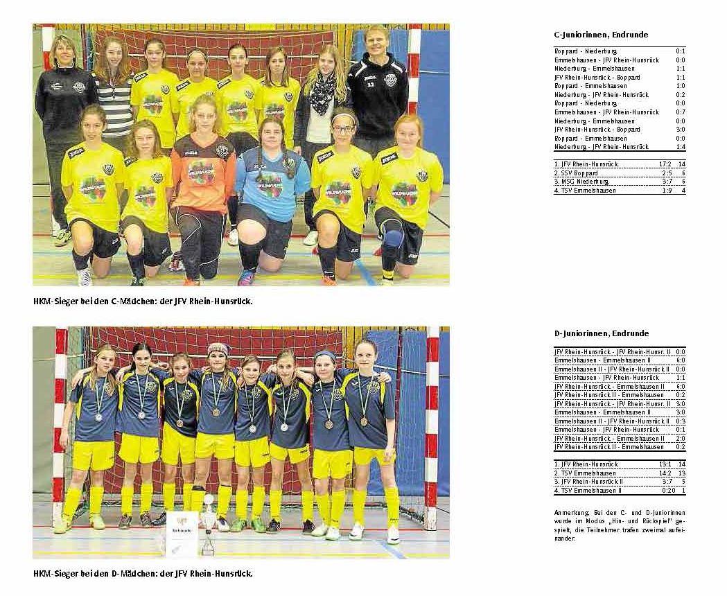 Futsal Regionalmeister 2015 Juniorinnen